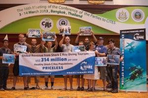 CITES Project AWARE Diver Event